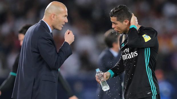 Ronaldo '120 percent' fit for Champions League final, says Zidane