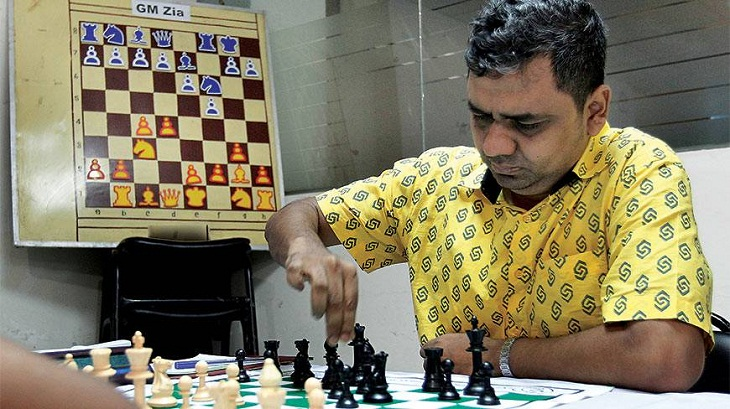 Zia shares 3rd position in Kolkata Open Chess