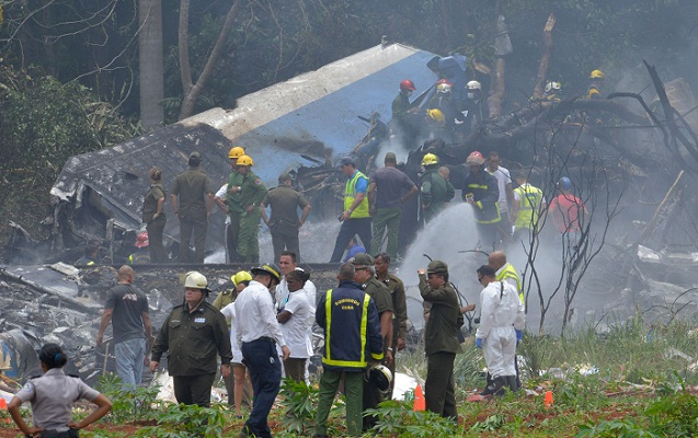 Cuban plane 113 on board crashes in Havana