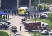 Ten dead in Texas school shooting, student arrested