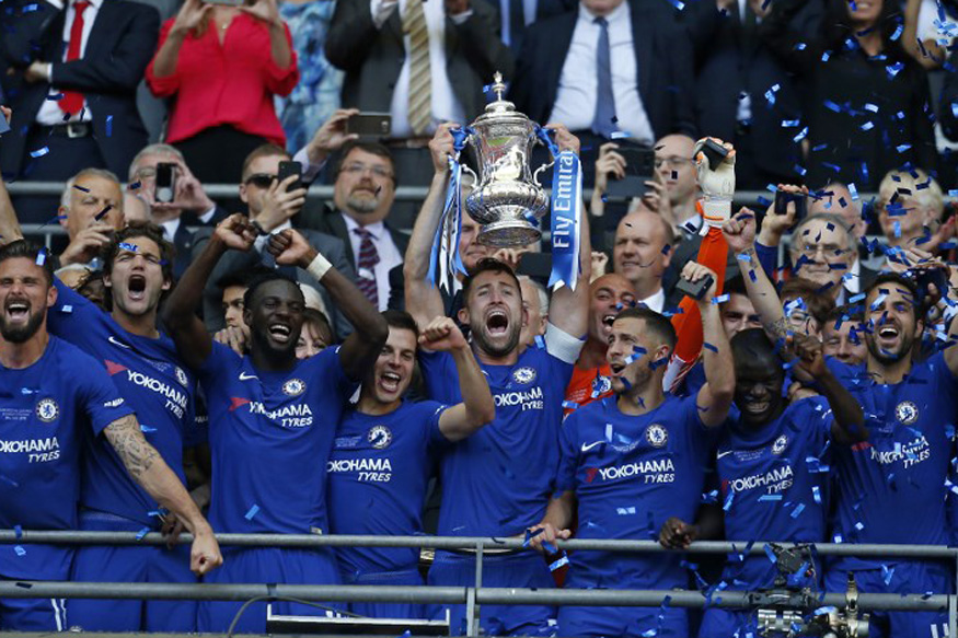 Eden Hazard the Hero as Chelsea Trump Manchester United to Win FA Cup