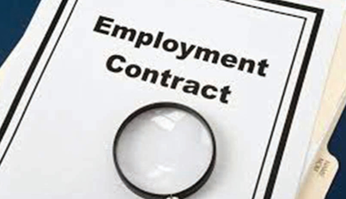 Mandatory contract  of employment