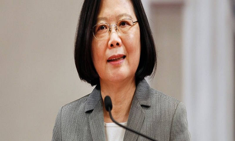 Taiwan president, pressed by Beijing, pledges more security