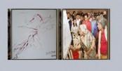 PM draws picture on 'Muktijoddhya'