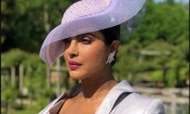 Priyanka Chopra looks every bit royal at friend Meghan Markle's wedding