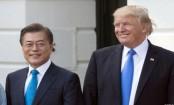 Trump, Moon discuss N. Korea's threat to scrap summit
