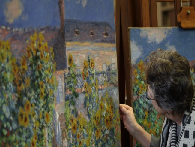 Monet sister paintings reunited in US for first time