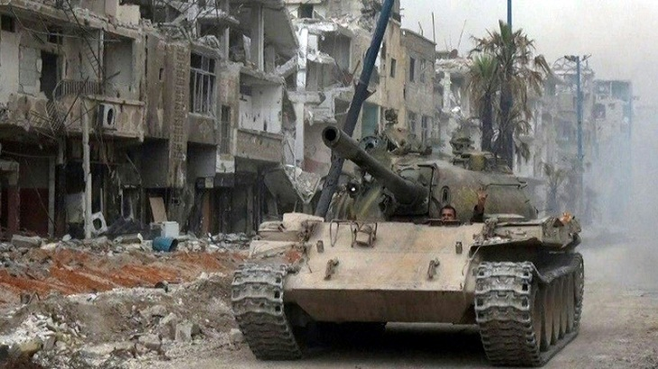 Syria says capital 'completely secure', IS ousted