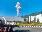 Indonesia's most volatile volcano erupts again
