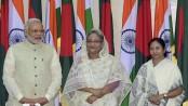Hasina, Modi, Mamata to meet at Shantiniketan Friday