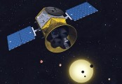 NASA's planet-hunting probe completes lunar flyby