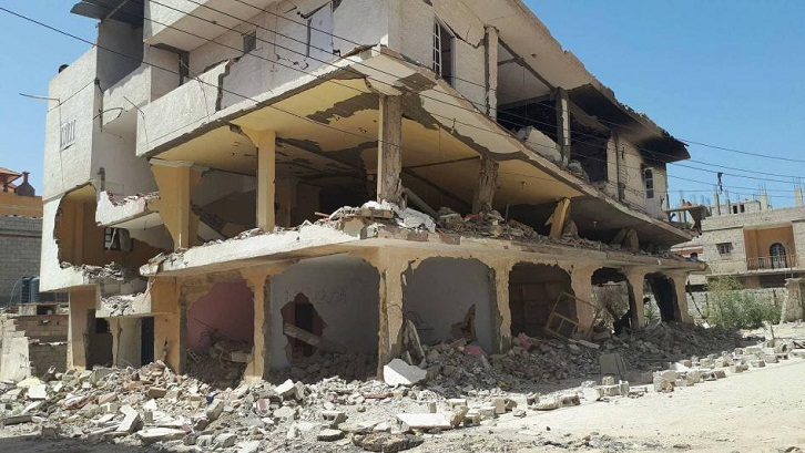 Egyptian army intensifies home demolitions in Sinai