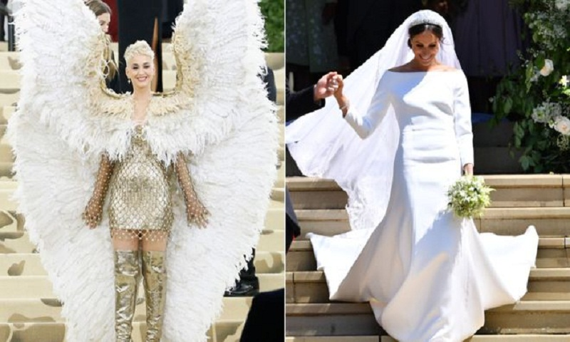 Katy Perry slams Meghan's wedding dress
