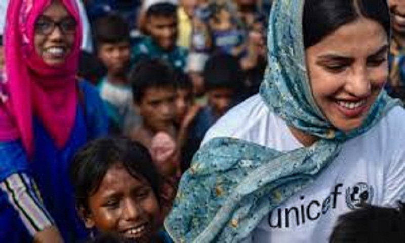 Image result for priyanka in cox's bazar