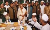 PM Sheikh Hasina hosts iftar for FFs, orphans, alems