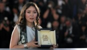 Kazakhstan hopes actress's Cannes win will inspire local talent