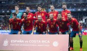 Spain announce 23-man squad for World Cup