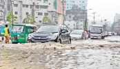 Rain submerges roads, disrupts life in city