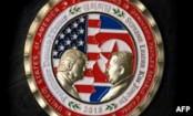 Commemorative coin struck for Trump-Kim summit