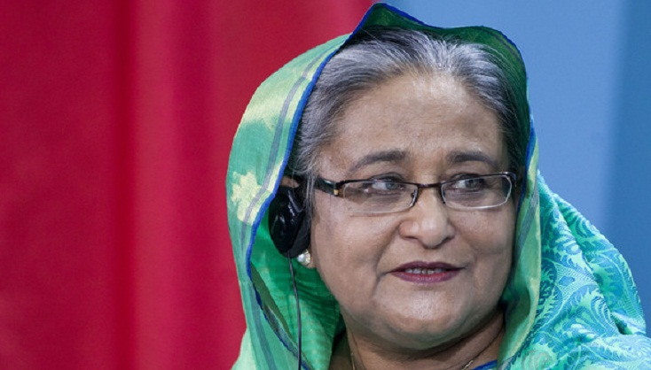 Sheikh Hasina goes to Kolkata to attend Visva Bharati University Convocation