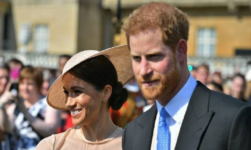 Prince Harry, Meghan at first royal event as newlyweds
