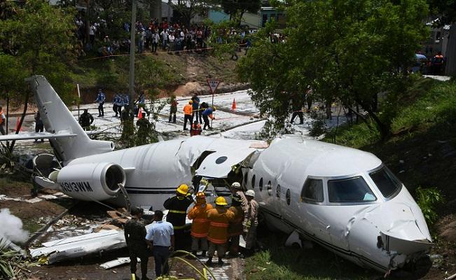 Private jet crashes in Honduran capital