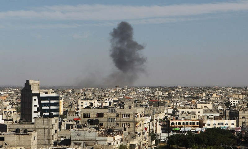 Israeli military hits Hamas sites in Gaza after infiltration