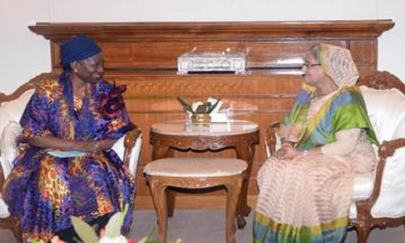 1 lakh Rohingyas to be shifted to Bhasanchar soon: PM Sheikh Hasina