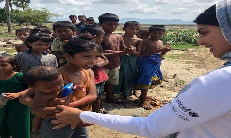 Rohingya children's future look bleak, help them: Priyanka