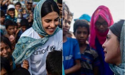 Priyanka visits Kutupalong camp