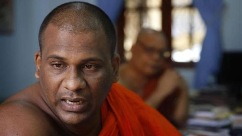 Sri Lanka monk found guilty of intimidation