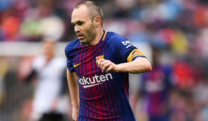 Barcelona legend Iniesta joins Japan's Vissel Kobe