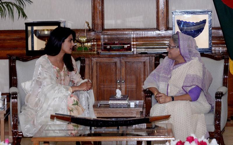 Learn from Bangladesh how to stand by distressed humanity: Priyanka