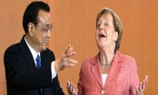 Germany's Merkel in China to talk trade, Iran, human rights