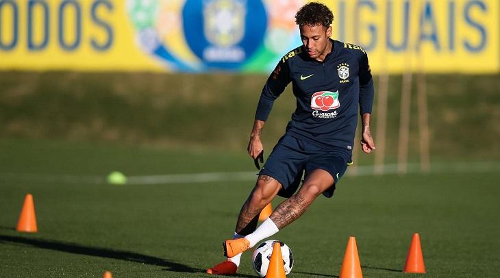 Neymar's return 'better than expected' - Brazil physical trainer