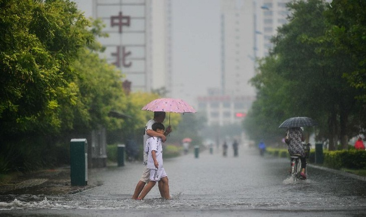 China issues yellow alert for rainstorms