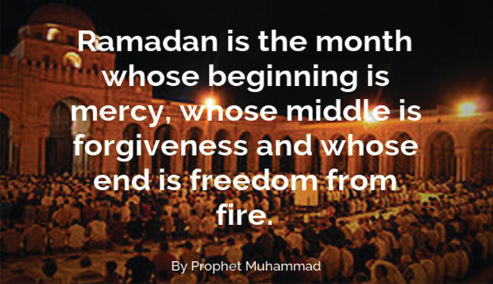 Month of mercy and forgiveness