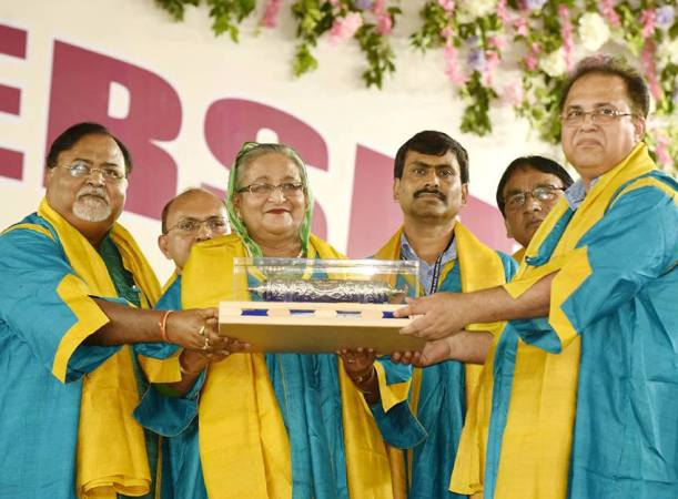 PM sheikh Hasina dedicates DLitt Degree to all countrymen