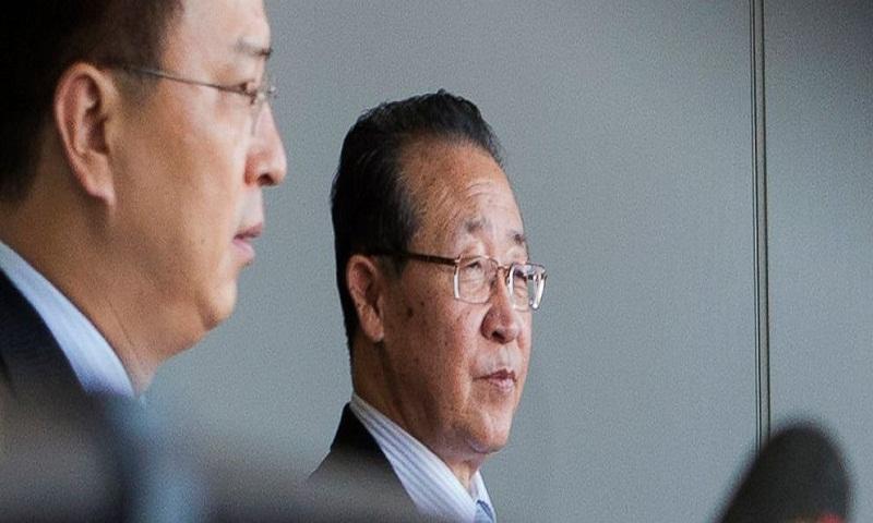 2 N Korean diplomats behind US summit back-and-forth