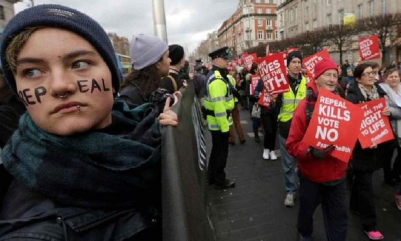 Irish abortion referendum: Exit polls suggest landslide for repeal