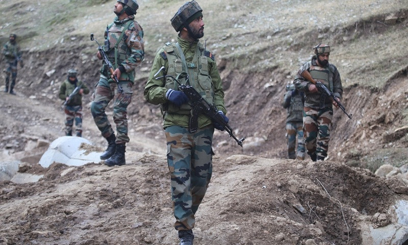Kashmir: 4 terrorists killed during infiltration bid in Tangdhar sector