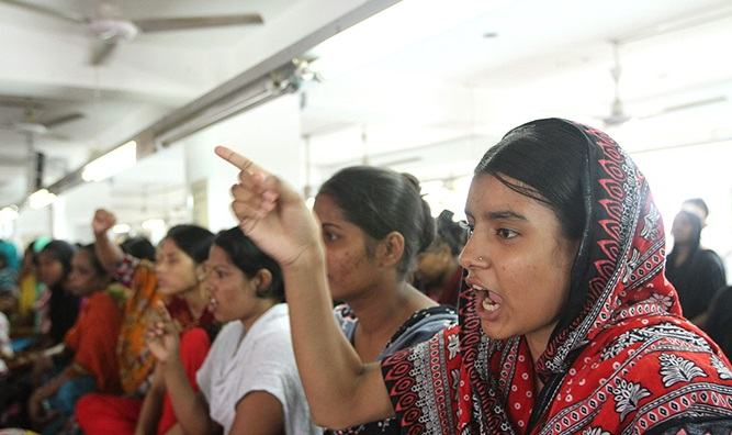 RMG workers demand salary, bonus before 20th Ramadan
