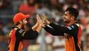 Rashid Khan heroics take Hyderabad into IPL final