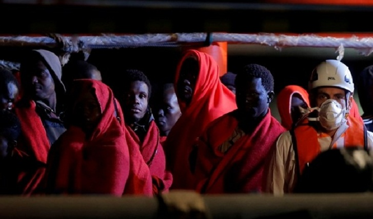 Over 100 migrants escape from Libya trafficking camp