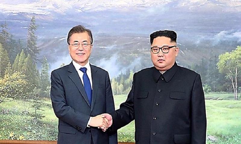 North Korea's Kim 'set on' Trump summit