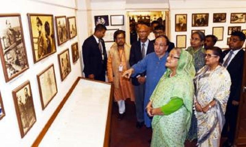 PM Sheikh Hasina visits Netaji Shubhas Bose museum