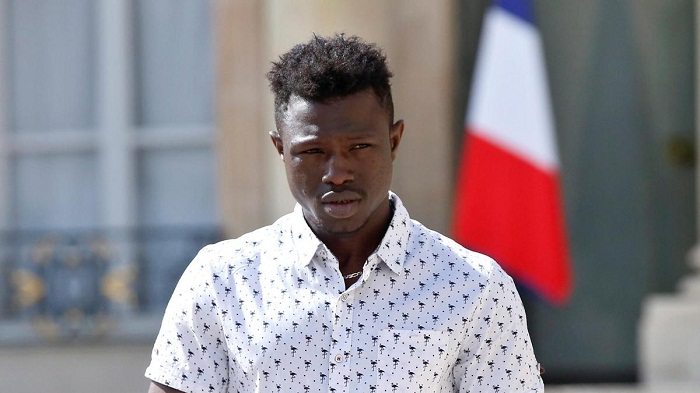 Mali 'Spiderman' Gassama to be made French citizen