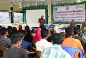 Thousands of Rohingya trained ahead of monsoon