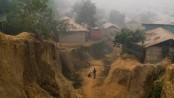 Rohingyas brace for monsoon landslide