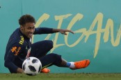Neymar admits not being 100 percent fit ahead of World Cup